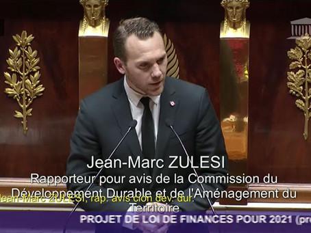 PROJET DE LOI DE FINANCES POUR 2021