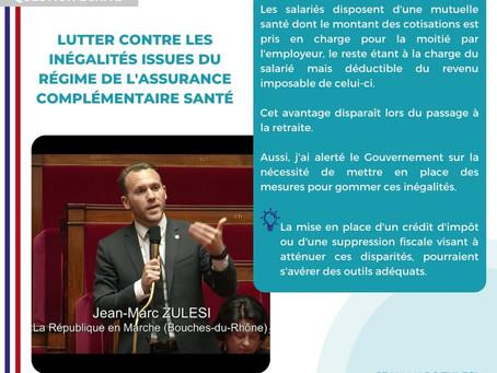 INÉGALITÉS ISSUES DU RÉGIME DE L'ASSURANCE COMPLÉMENTAIRE SANTÉ