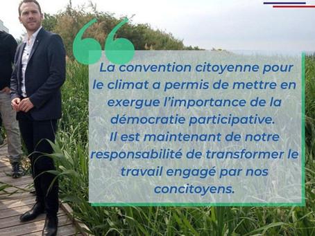 LA CONVENTION CITOYENNE POUR LE CLIMAT : UN EXERCICE DÉMOCRATIQUE INÉDIT !