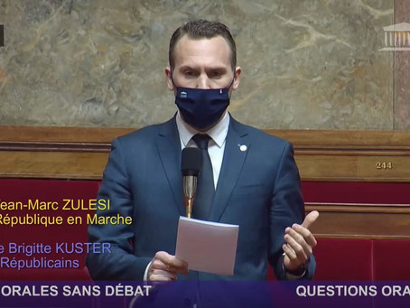 QUESTION AU GOUVERNEMENT SUR LE PÔLE CLESUD ET LA GARE DE TRIAGE DE MIRAMAS