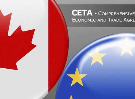 CETA : POURQUOI UN ACCORD ÉCONOMIQUE ET COMMERCIAL ENTRE L'UNION EUROPÉENNE ET LE CANADA ?