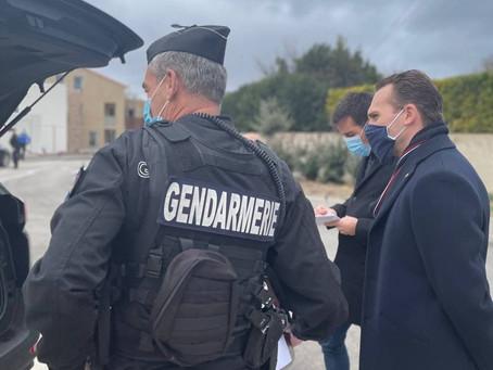 ATTRIBUTION DE NOUVEAUX VÉHICULES AUX FORCES DE L'ORDRE