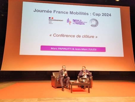 CAP VERS PARIS  2024 AVEC FRANCE MOBILITÉS