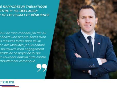 DÉBUT DE L'ÉTUDE DU PROJET DE LOI CLIMAT ET RÉSILIENCE