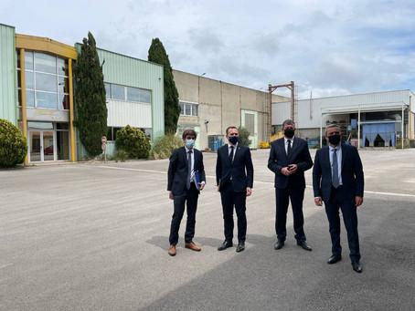 PRÉSENTATION DU PLAN DE RELANCE AUX ENTREPRISES DE LA CIRCONSCRIPTION