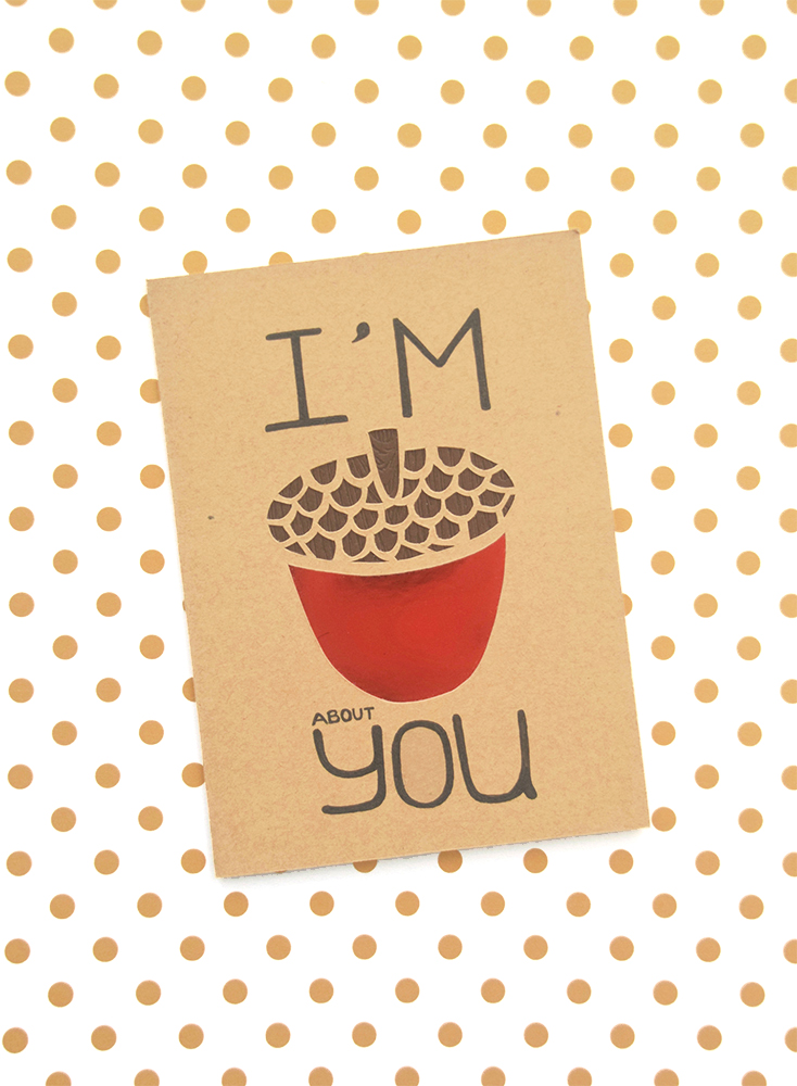Handmade Card | I'm Nuts About You