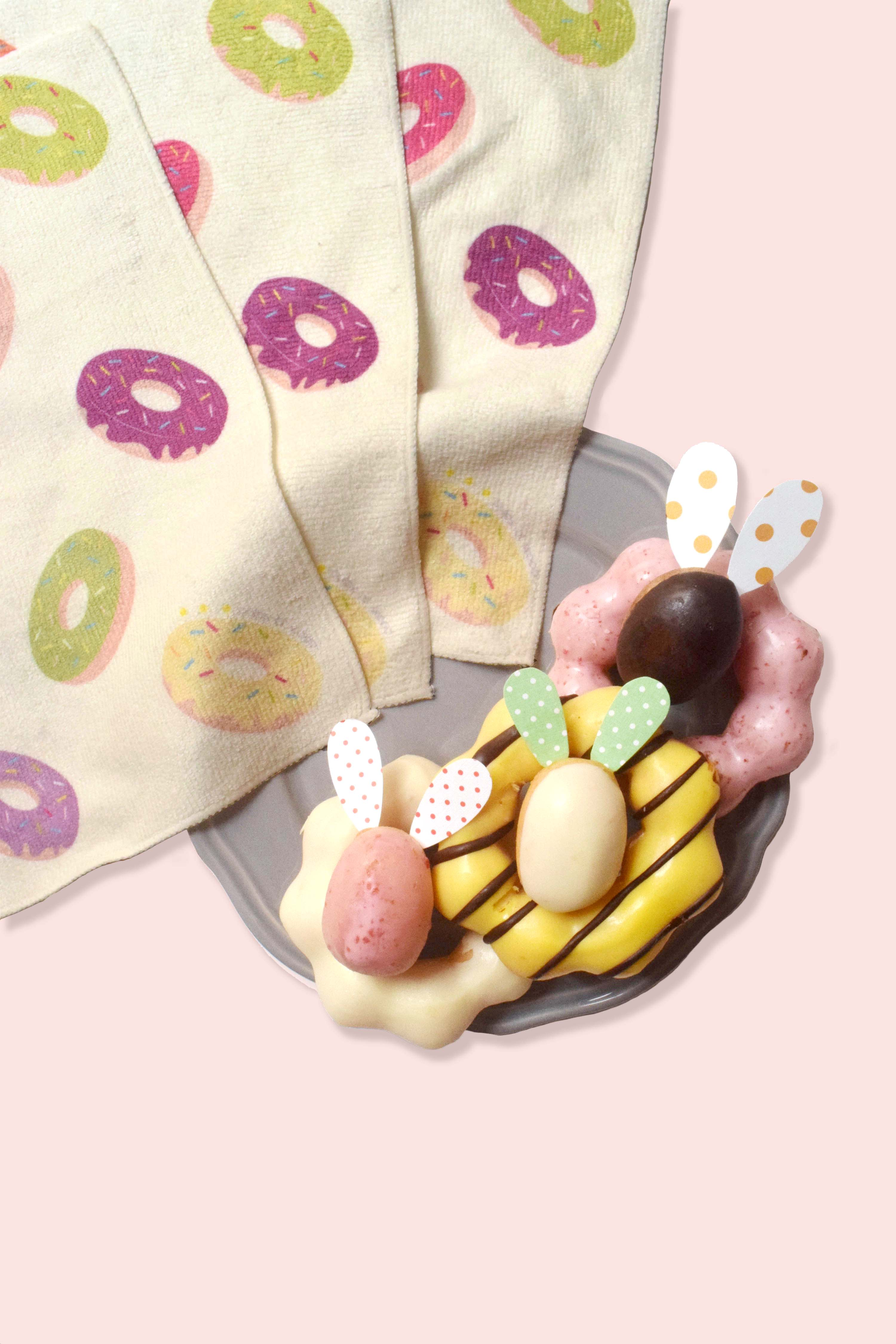 Square Face Towel | Donuts