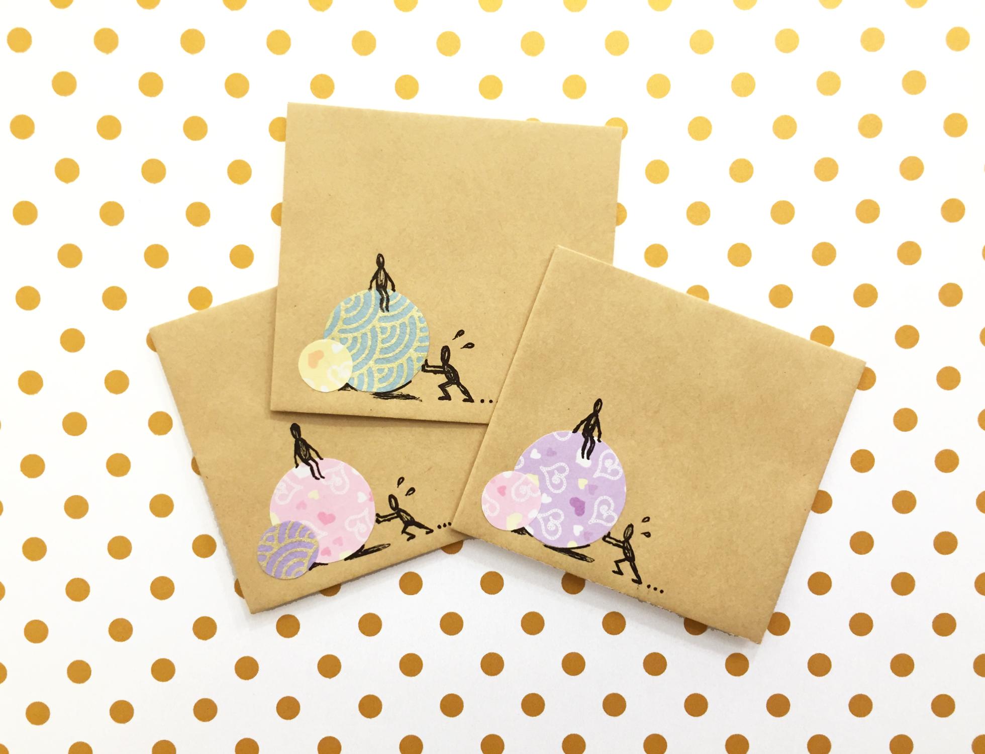 Handmade Envelopes | Push