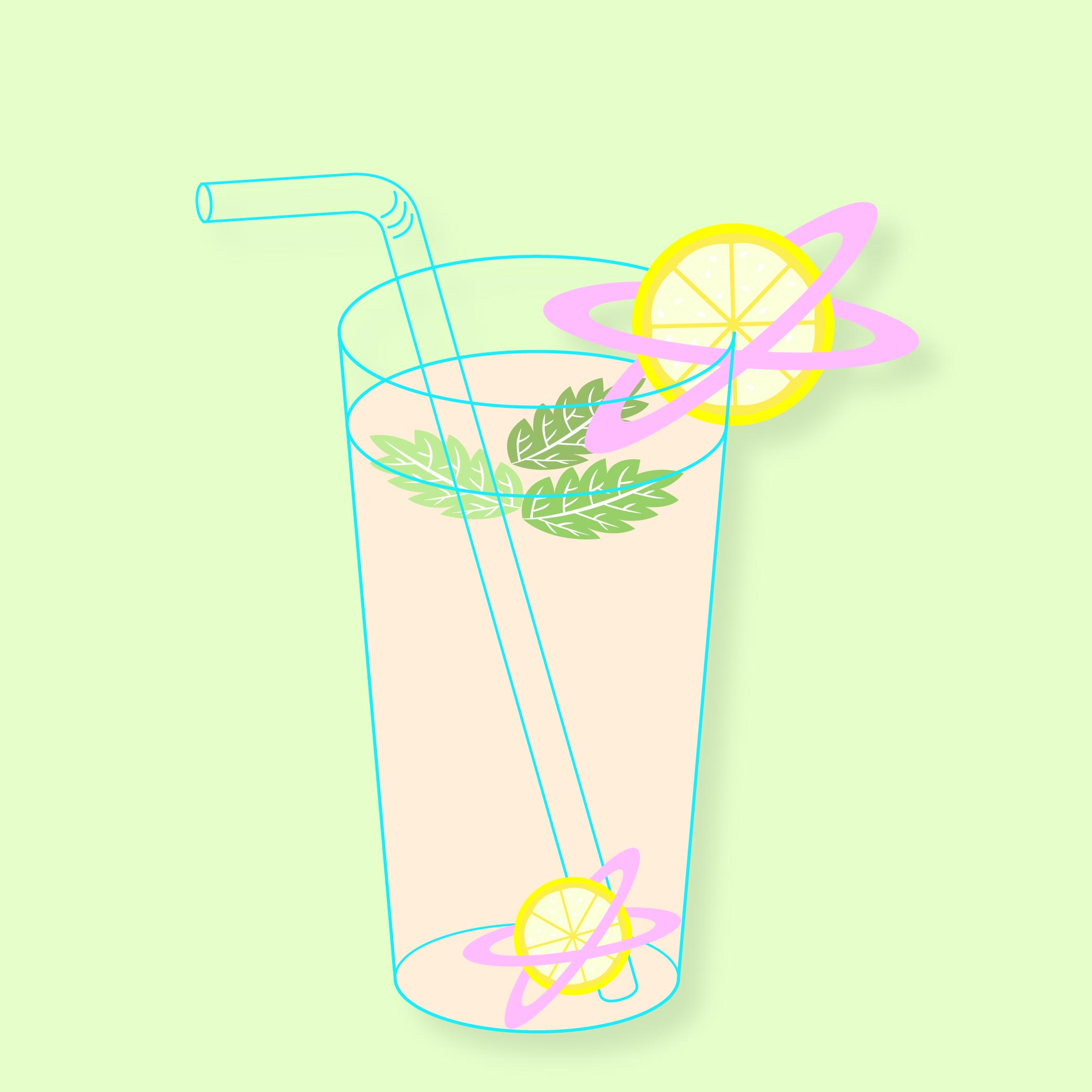 Astro | Tropical Drink