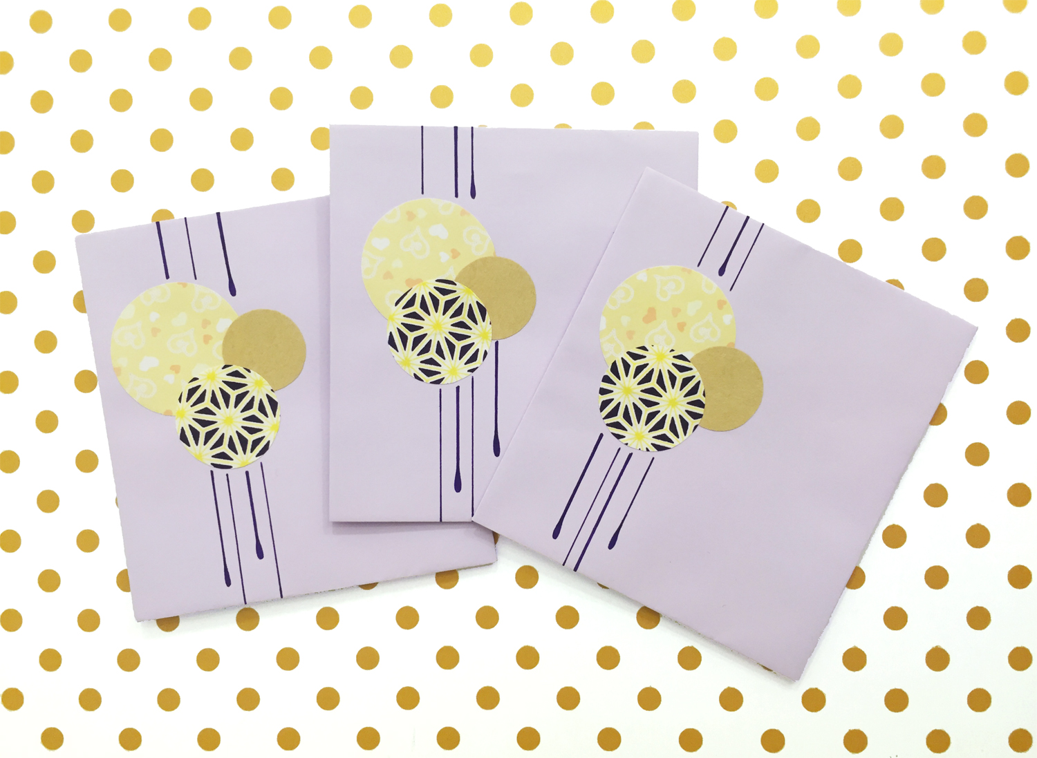 Handmade Envelopes | Drips