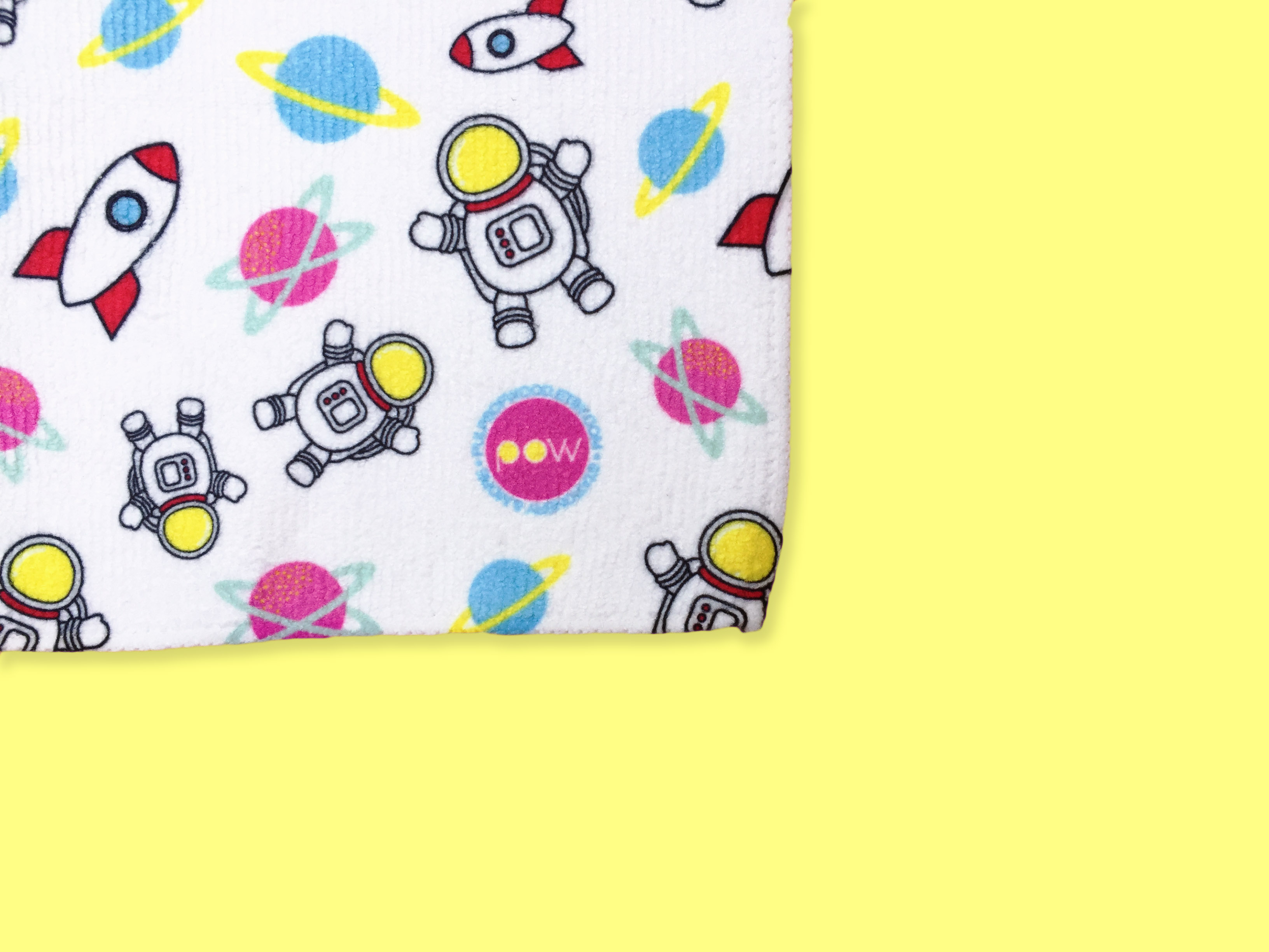 Square Face Towel | Space Odyssey