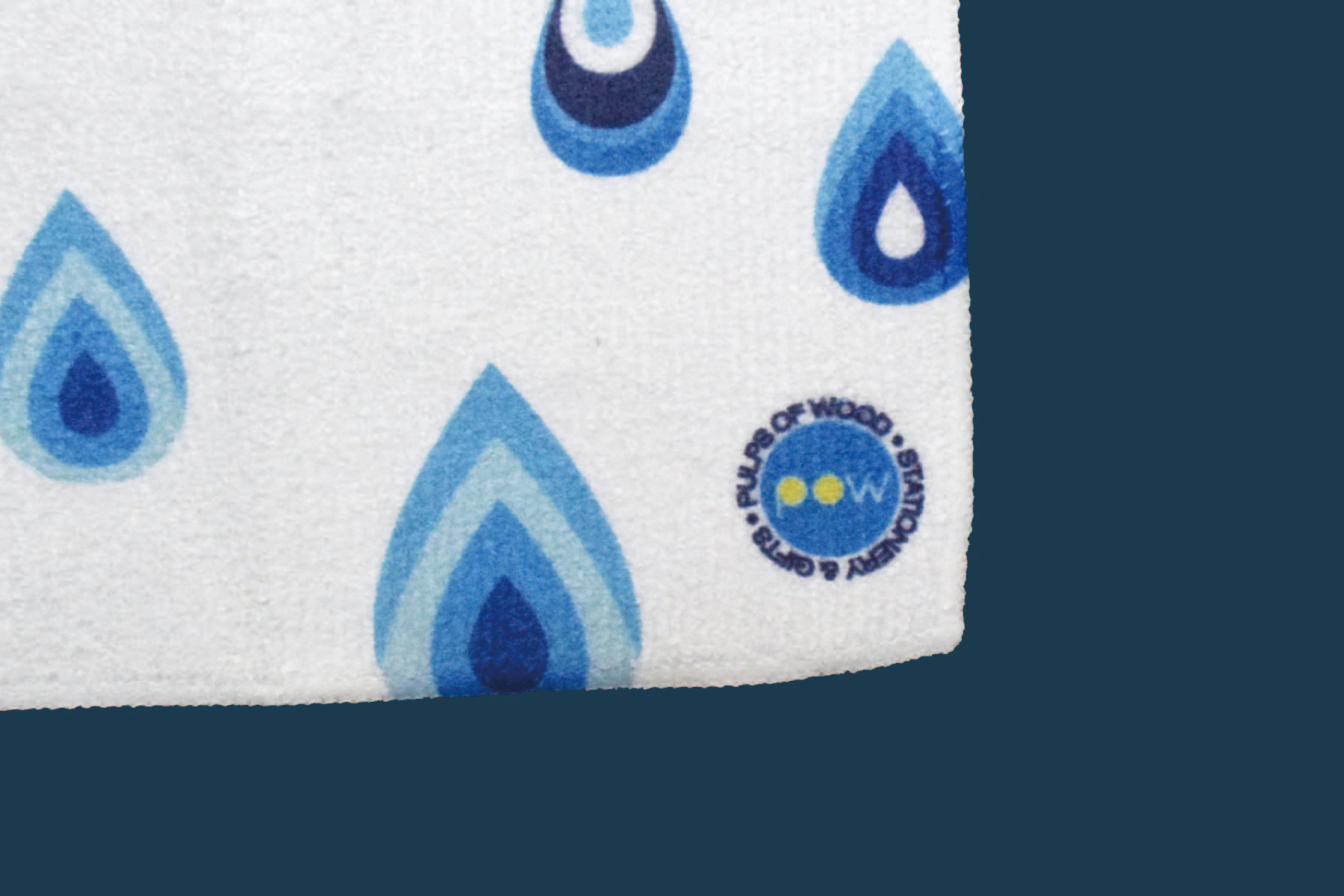 Square Face Towel | Drip Drop