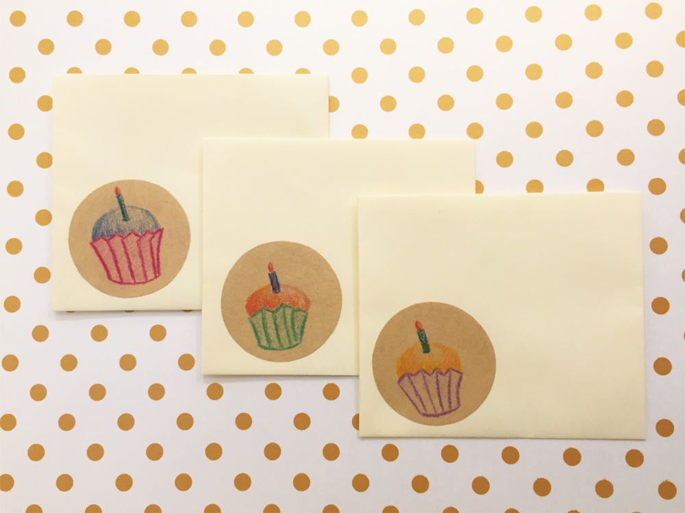 Handmade Envelopes | Cupcakes
