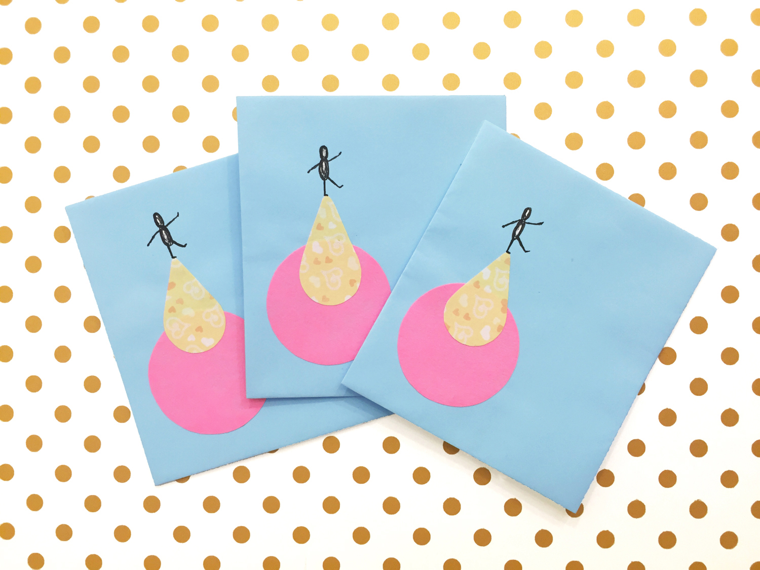 Handmade Envelopes | Circus Act