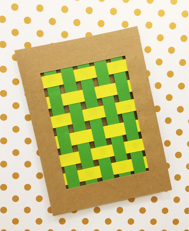 Handmade Card | Weave