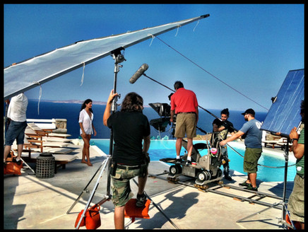 Shooting in Mykonos 2011