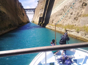 -Fixer Corinth Canal- Filming for ItteQ show 2014