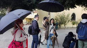 Fixer Crete- Japanese TV Show- Filiming in Crete -Chania