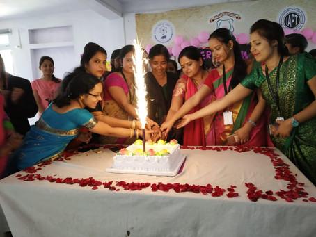 ज्ञानोदय गुरुकुल में महिलाओं के सम्मान में कार्यक्रम व सुधा वर्गीस बालिका छात्रवृति की घोषणा