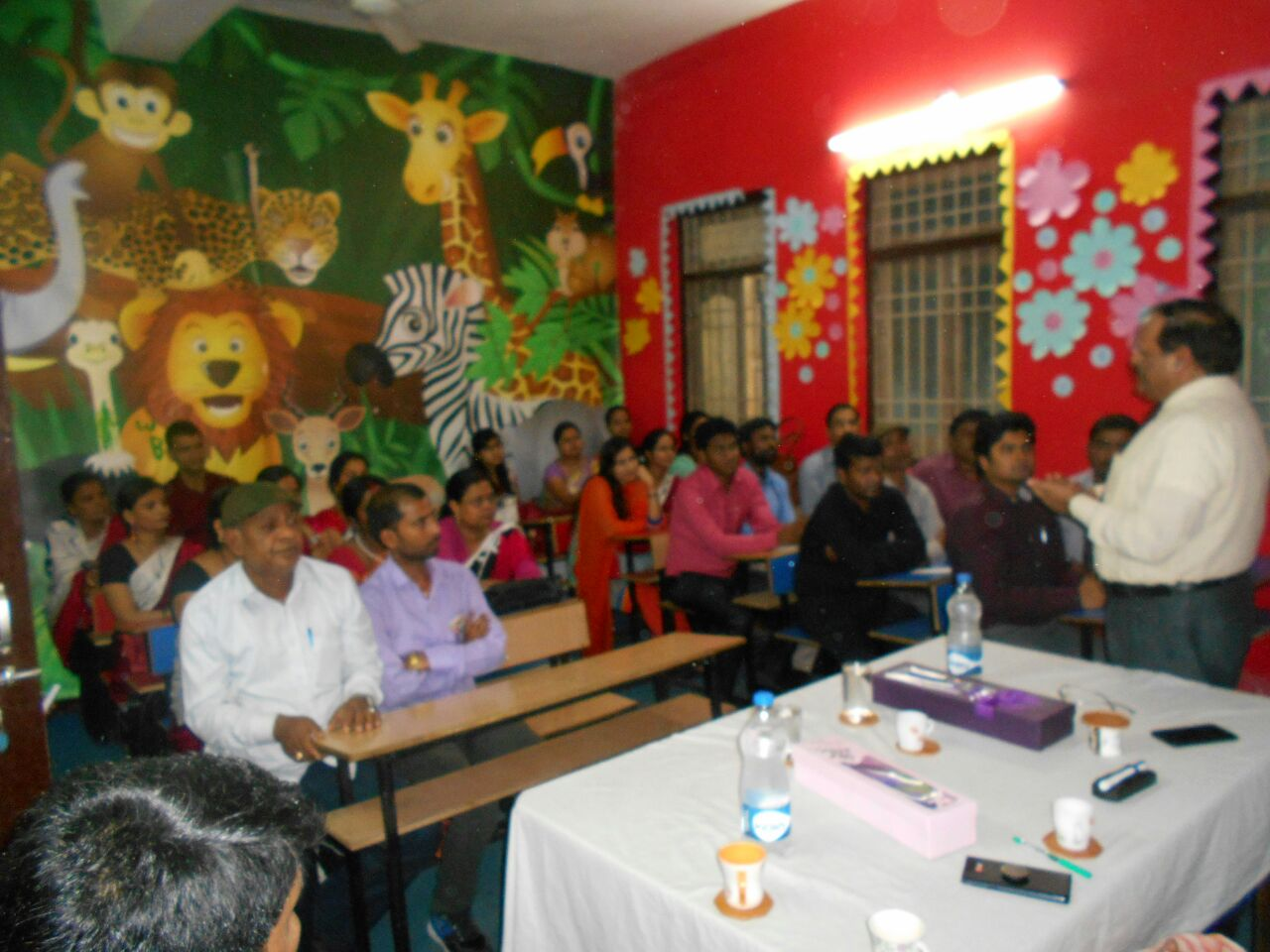 Workshop at Gyanodaya Gurukul