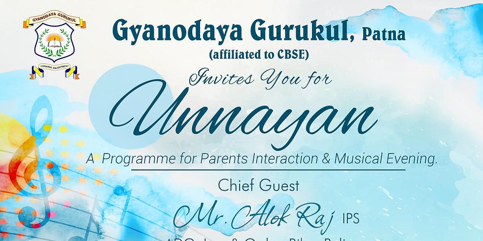 Unnayan...A  Programme for Parents Interaction & Musical Evening.