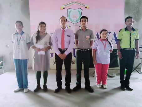 ज्ञानोदय गुरुकुल में शिक्षक दिवस के साथ साथ इनवेस्टिचर समारोह का आयोजन