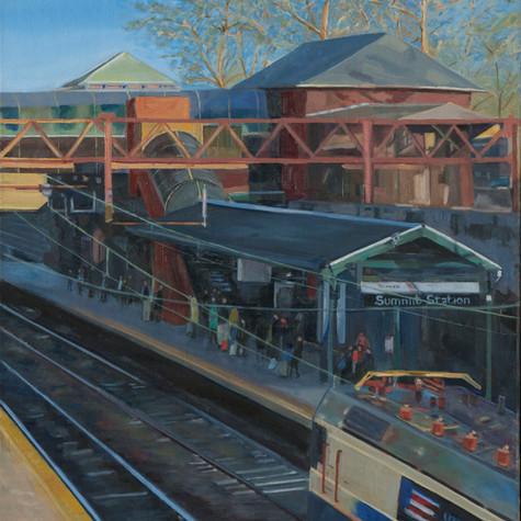 Summit Train Station: New York Bound