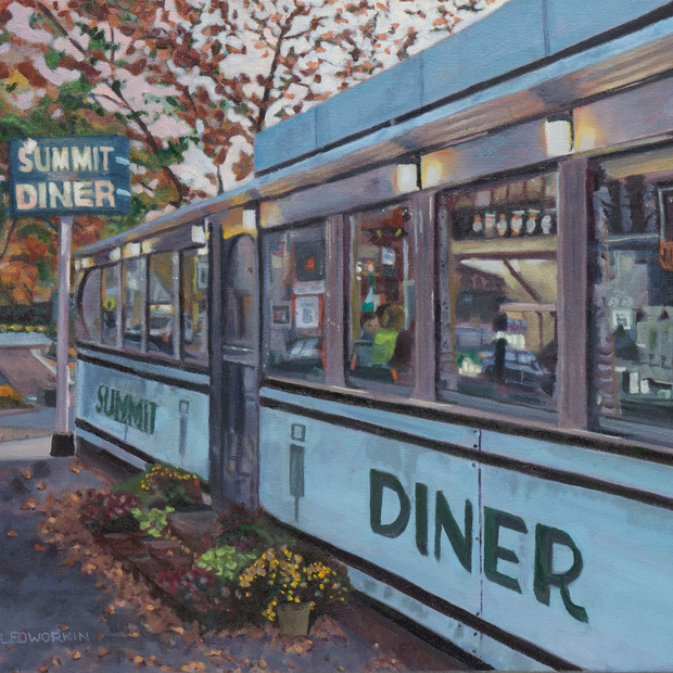 Summit Diner: Autumn Early Evening