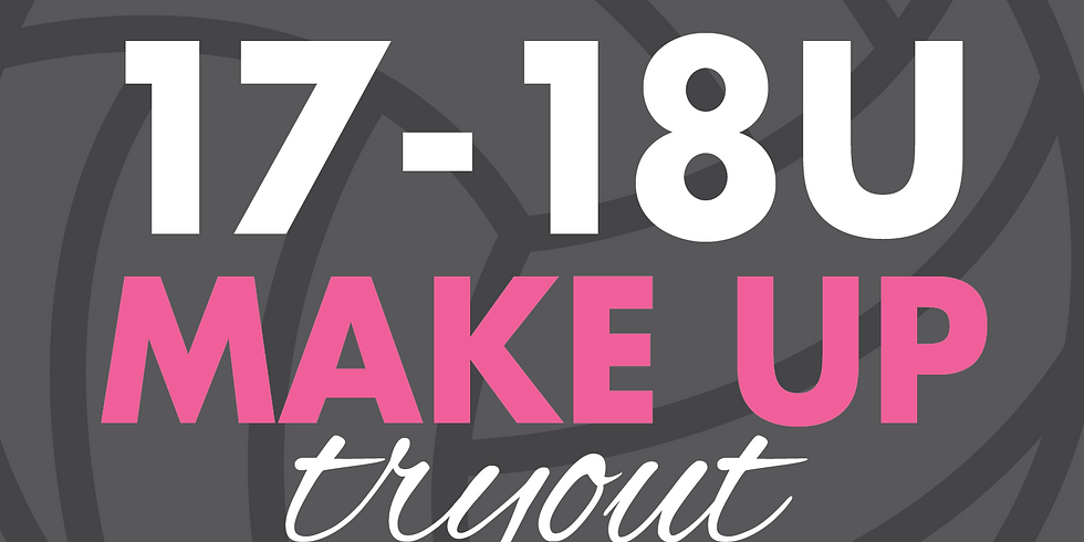 17-18U Make Up Try Outs   September 3