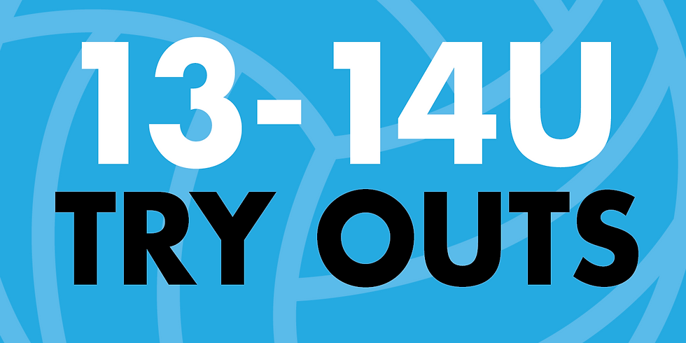13-14U Try Outs | September 1