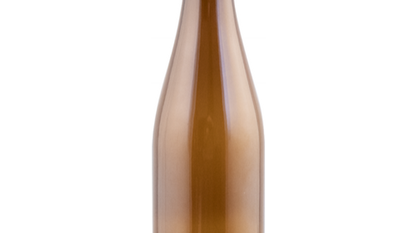 Bottles - 500 ml (16.9 oz) Amber Champagne/Belgian Style - Case of 12