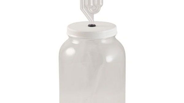 Glass Fermentation Jar - 1 gal. (Kit)
