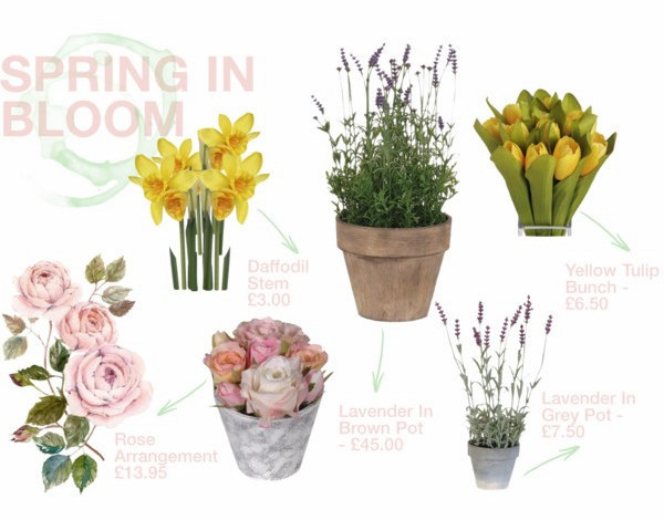 Spring Flowers Moodboard JFM Interiors