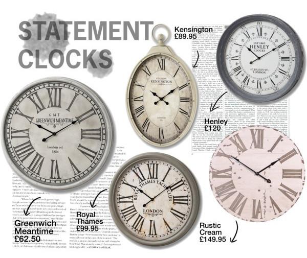 JFM Interiors Clock Moodboard