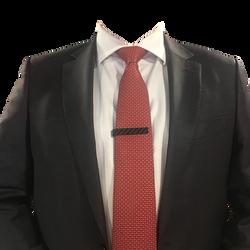 Tie Clip with jacket