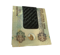 Money Clip Carbon