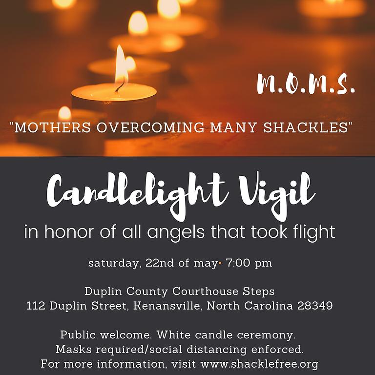 MOMS Candlelight Vigil