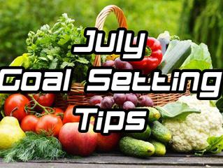 July Goal Setting Tips