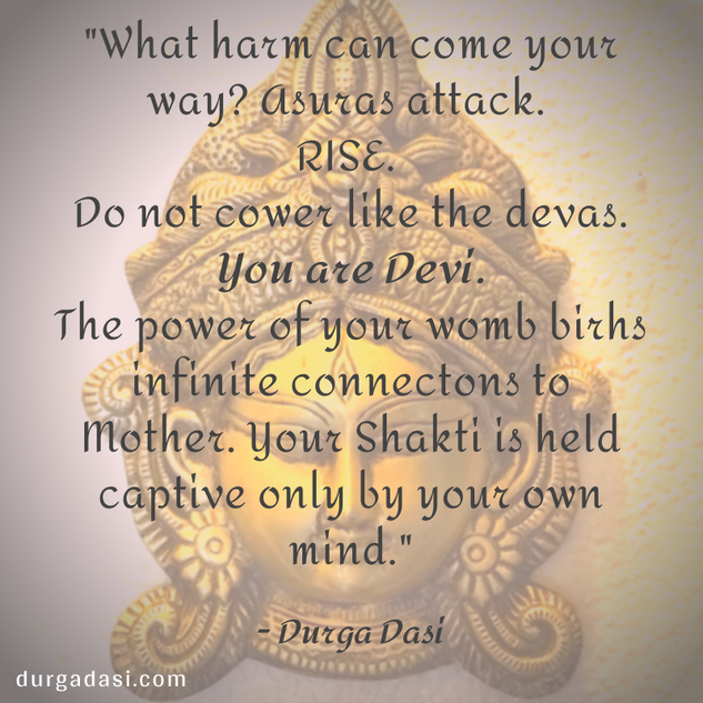 you are Devi