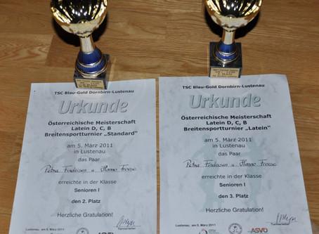Tanzturnier Lustenau 2011 (ÖM Lateinamerikanische Tänze + BSP)