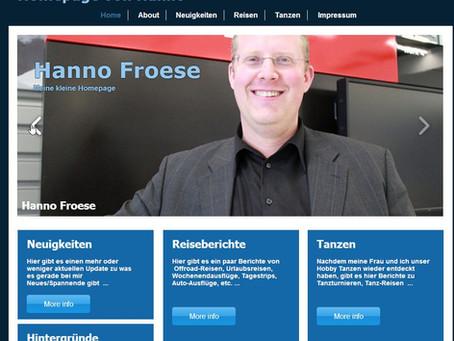 Neue Homepage und Update der Inhalte