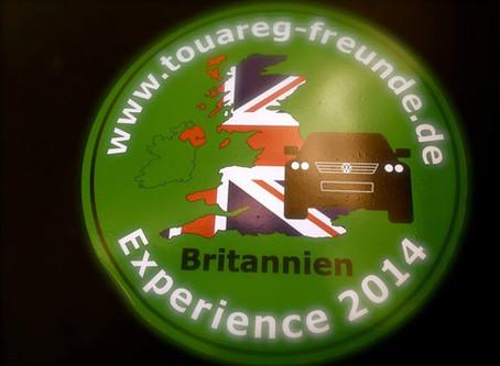 Touareg-Freunde Offroad Reise Britannien (England, Schottland, Wales)