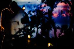 sunset cozumel wedding phototgrapher
