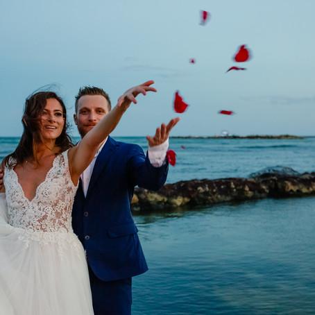 Esmeralda & Lazaros – The Mexican/Greek not so big fat destination wedding in Riviera Maya