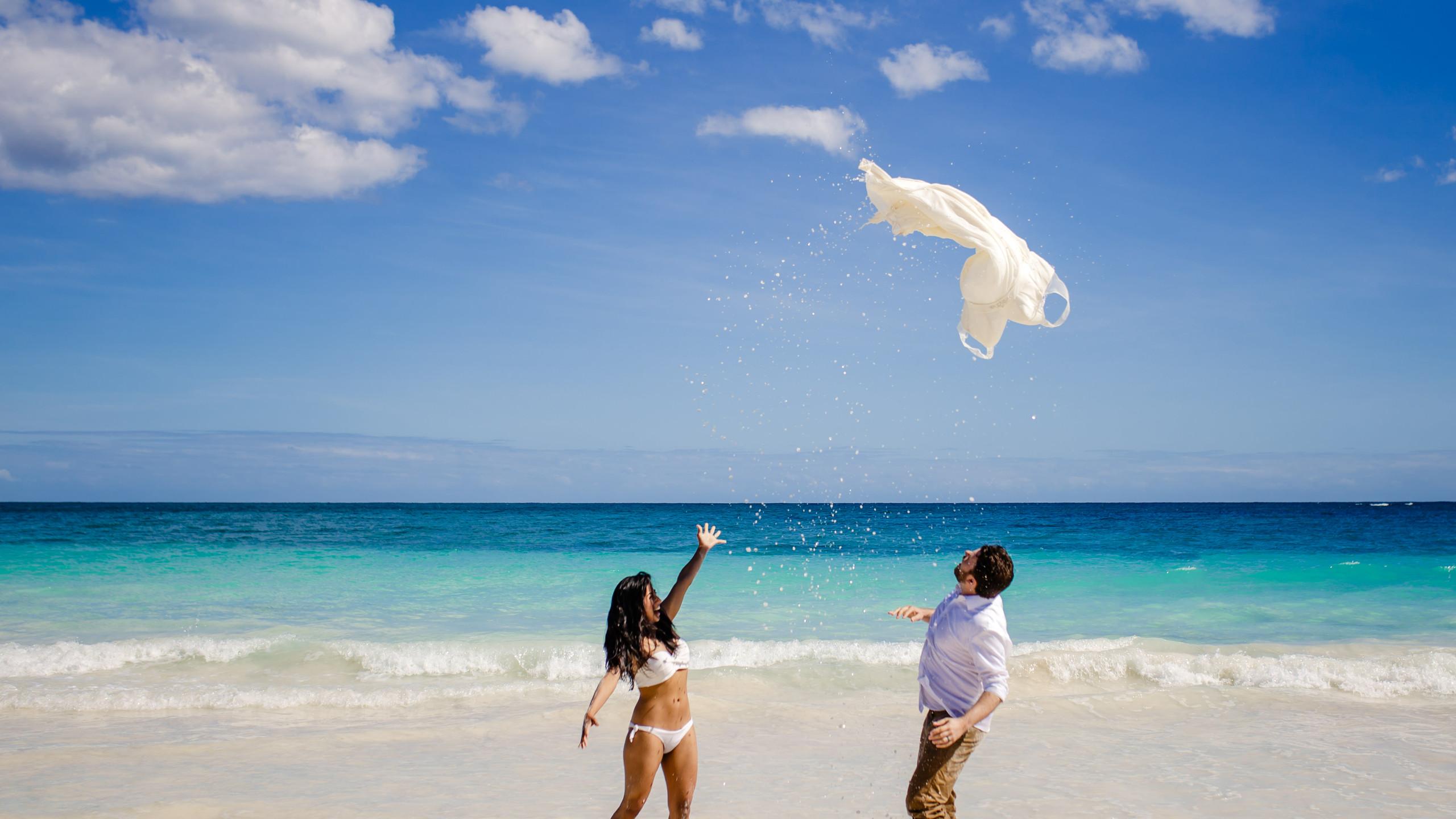 trash the dress riviera maya