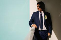groom wedding photo