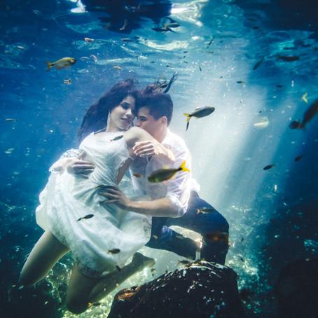 Trash The Dress Photoshoot in Riviera Maya