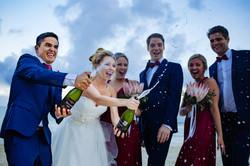 wedding party destination cancun photographer
