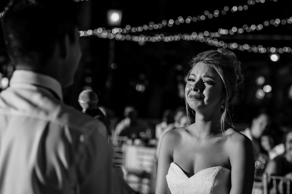 happy tears emotion wedding bride playa del carmen photorapher