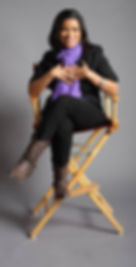 Nancy Vasquez in director's chair.jpg